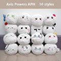 30 pcs/lot Hetalia: Axis Powers plush toys Anime Heitaliya APH USA Russia CN JP plush dolls pillow 16 styles shipping by EMS
