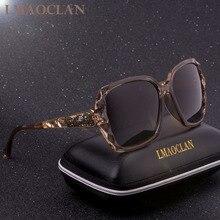 Luxury Brand Design HD Polarized Sunglasses Women Ladies Ove