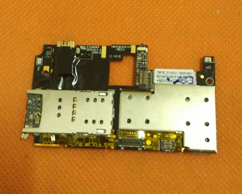 Carte mère d'origine 3G RAM + 32G ROM Carte Mère pour Ulefone Vienne MTK6753 Octa Core 4G 5.5 FHD 1920x1080 Livraison gratuite