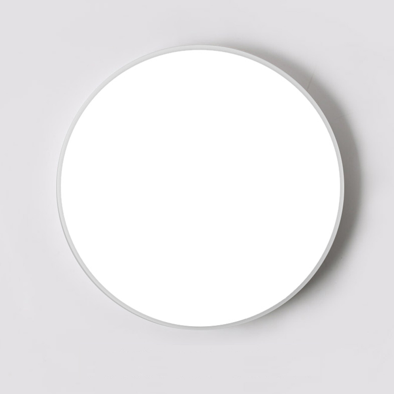 Ultra-thin design LED Ceiling light Panel lamp Surface Mounted Round 12W 18W 24W 32W for Kitchen/Foyer/Balcony/Bathroom AC220V