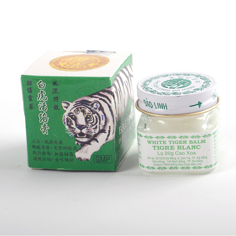 Original Vietnam White Tiger Balm Ointment Pain Relieving Patch Massage Relaxation Arthritis Essential Massage cream Y2