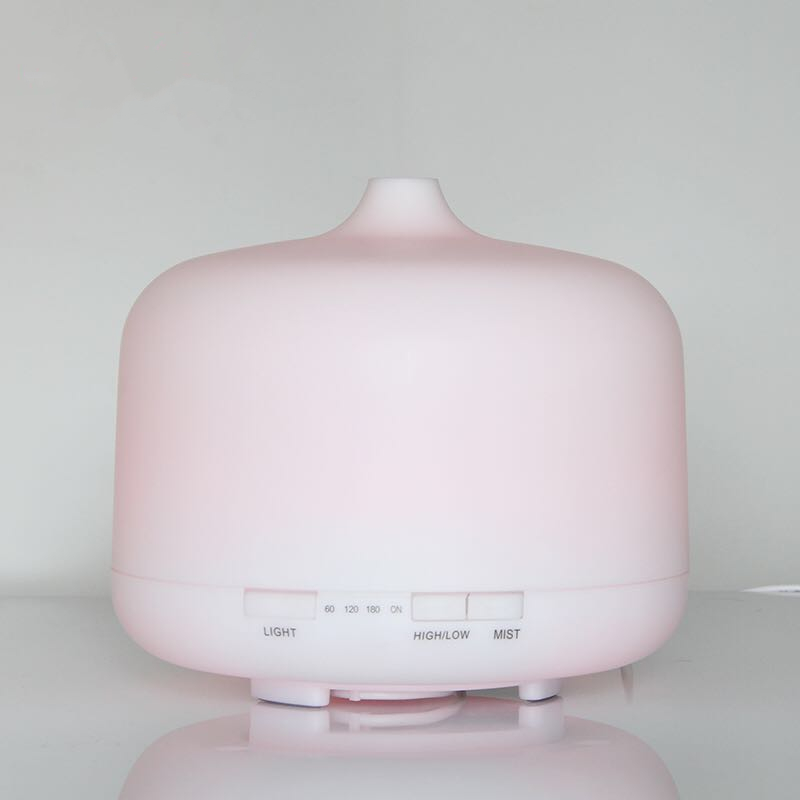 MRF-082 250ml Ultrasonic humidifier 7 Color Lights home office bedroom mute colorful aromatherapy machine essential oil diffuser цена