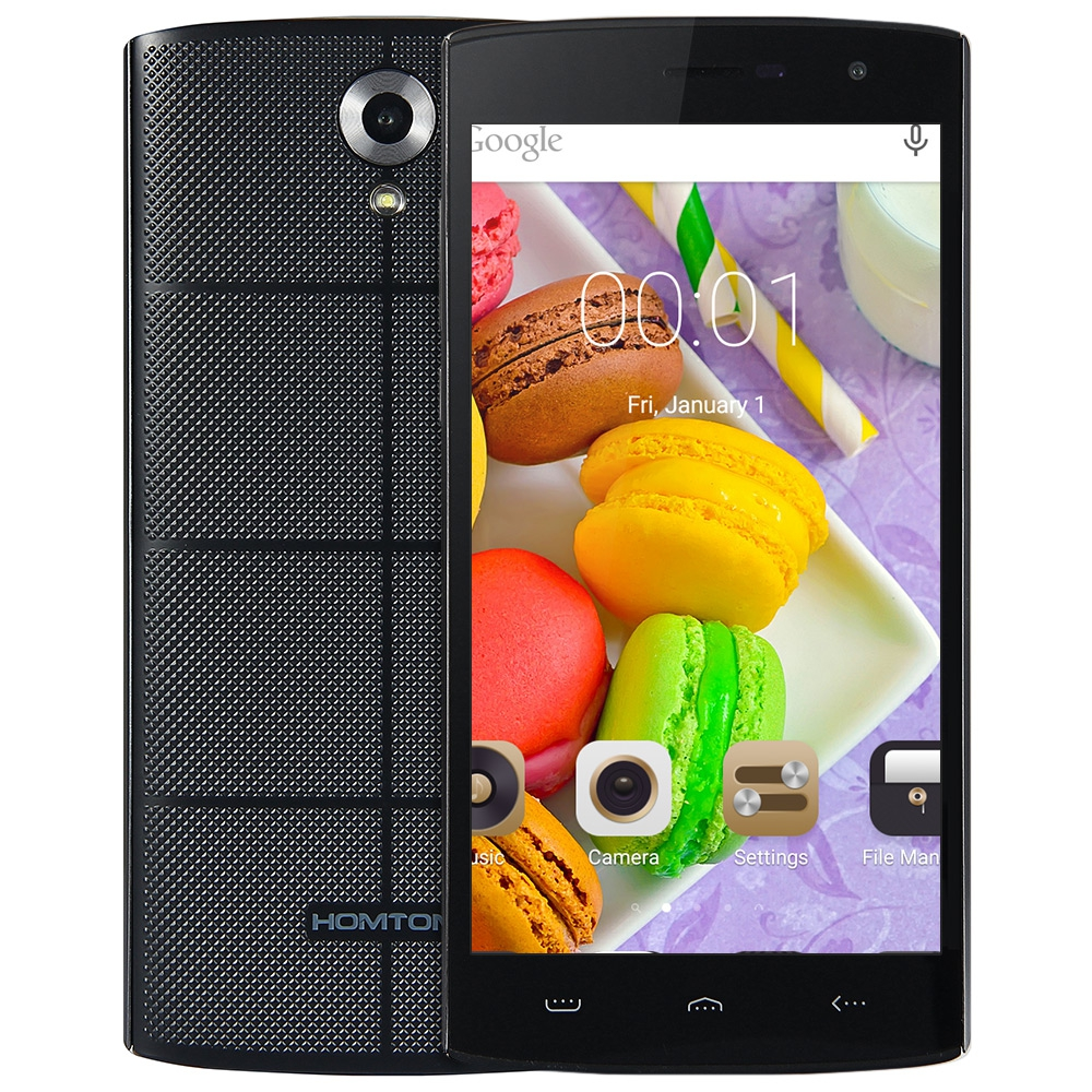 HOMTOM HT7 Smartphone 5,5 zoll Android 5.1 MTK6580 Quad Core 1 GB RAM 8 GB ROM Dule Sim-karte 1280x720 HD 8.0MP GPS WCDMA handy