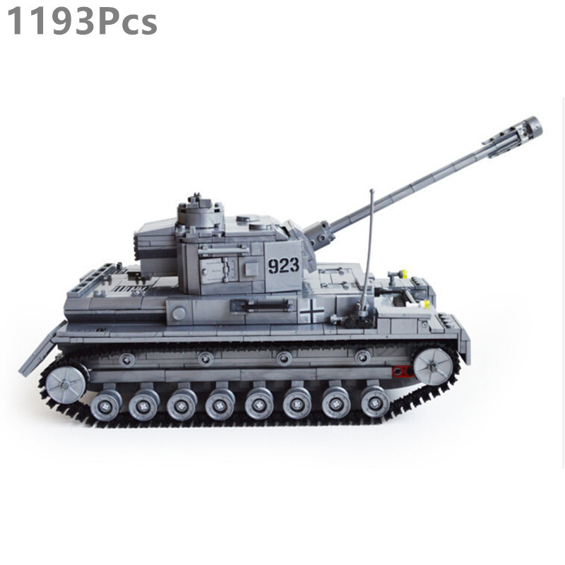 Kazi Model building kits compatible with lego city World War II German tanks 976 3D blocks Educational toys hobbies for children loz mini diamond block world famous architecture financial center swfc shangha china city nanoblock model brick educational toys