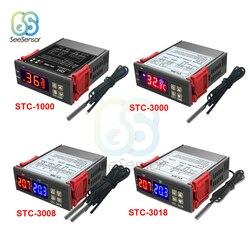 STC-1000 STC-3000 STC-3008 STC-3018 LED Digital Temperature Controller Thermostat Thermoregulator Incubator 12V 24V 110V 220V