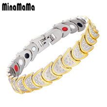 b9a7c30a9b0 Homens pulseira de germânio magnético para as mulheres tortoise shell  design bio energia saúde jóias masculinas