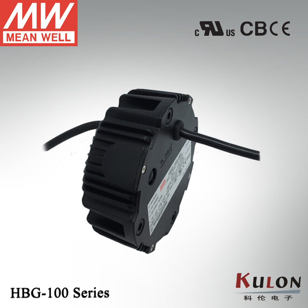 Meanwell constant current LED driver HBG-100-24 96W 4A 24V LED power supply jr ss 35r 36 water resistance 30w led constant current source power supply driver 100 240v
