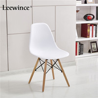 WFGOGO Fashion Dining Chairs Simple Plastic Creative Leisure Coffee Design Chair Stylish Dining Chairs Contemporary