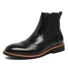 2017 Spring/Autumn Men timber Genuine Leather Warm Men Outdoor Ankle Martin Boots Retro Mens Designer Dress Boots