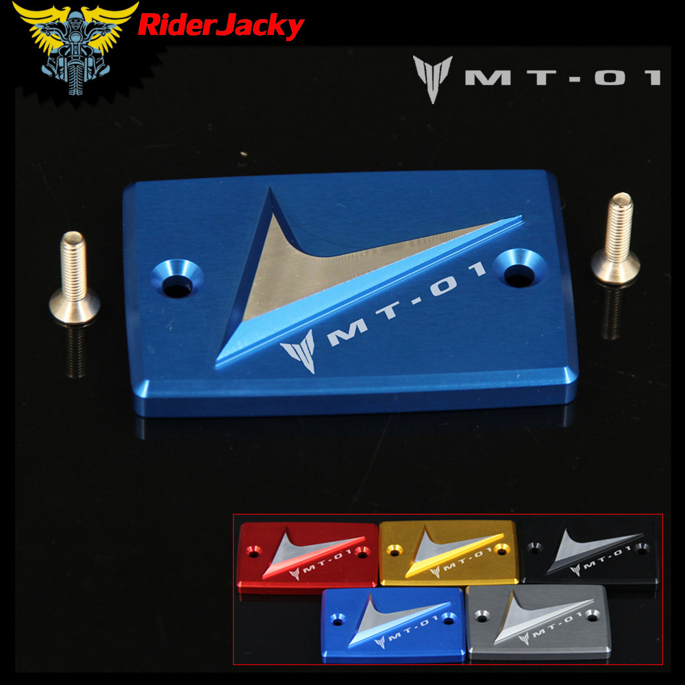 RiderJacky For Yamaha MT-01 MT01 MT 01 2006-2010 2007 2008 2009 Motorcycle Blue Front brake Fluid Reservoir Cover Cap