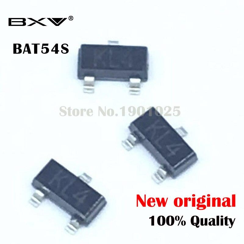 100PCS BAT54S SOT-23 BAT54 KL4  SOT23 SMD New And Original