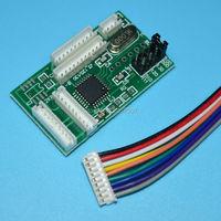 Hp500 800 redefinição automática chip decodificador para hp designjet 500 800 510 100 120 510 111 cartuchos de tinta impressora