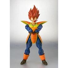High Quality Dragon Ball Anime Vegeta Battle Clothes Adult Action Figures Saiya Model Non-toxic Movable Garage Kid Collection