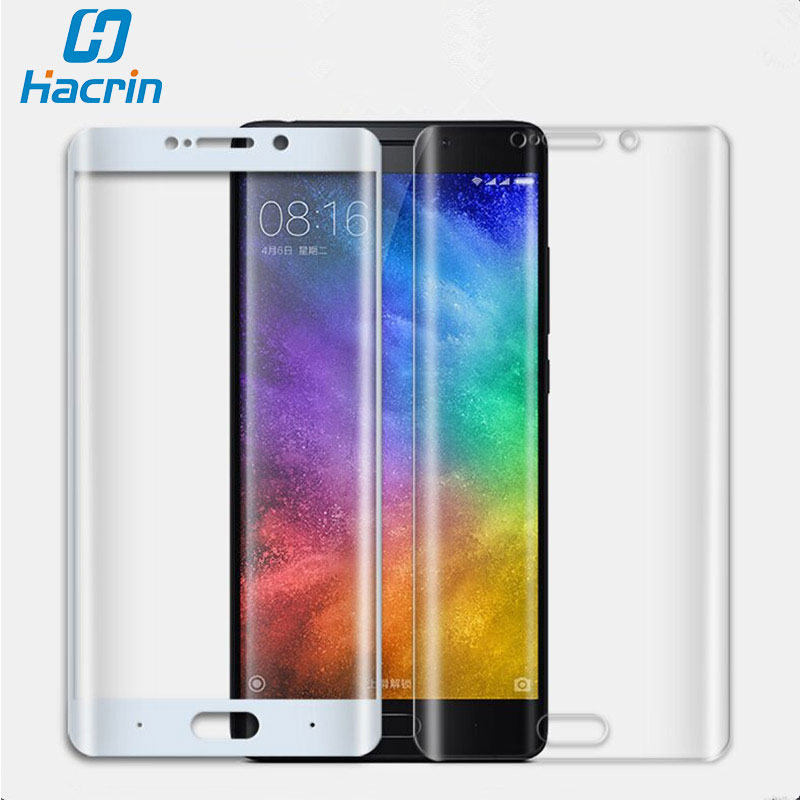 For Xiaomi Mi Note 2 Tempered Glass Film 3D Curved Surface Anti Explosion Full Cover Screen Protector Film for Xiaomi Mi Note 2