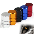 4Pcs Universal Aluminum Car Tyre Air Valve Caps Bicycle Tire Valve Cap Car Wheel Styling Round  A1
