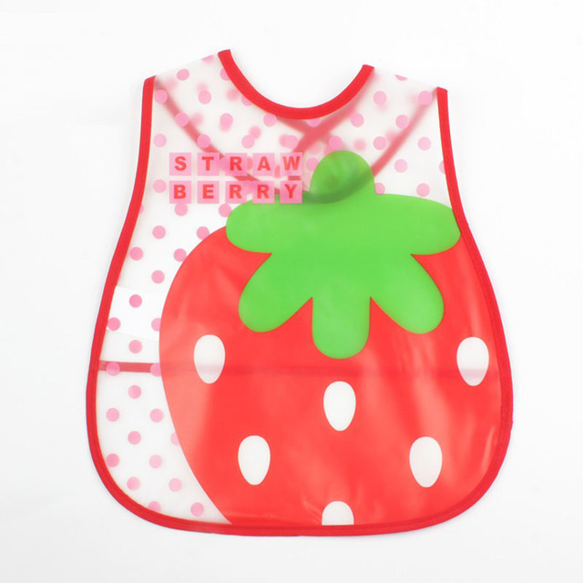 Lovely cartoon baby feeding apron baby nest waterproof saliva overalls for newborns Children Feeding Smock Bib Burp Clothing