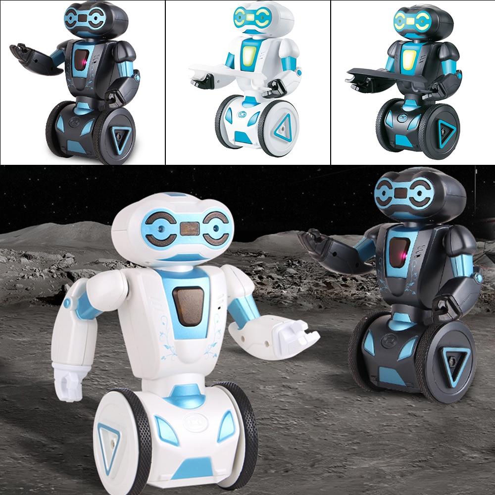 5 Operating Modes Remote Control Robot Smart Intelligent Programming Gesture Sensing LED Dancing Robot RC Toy