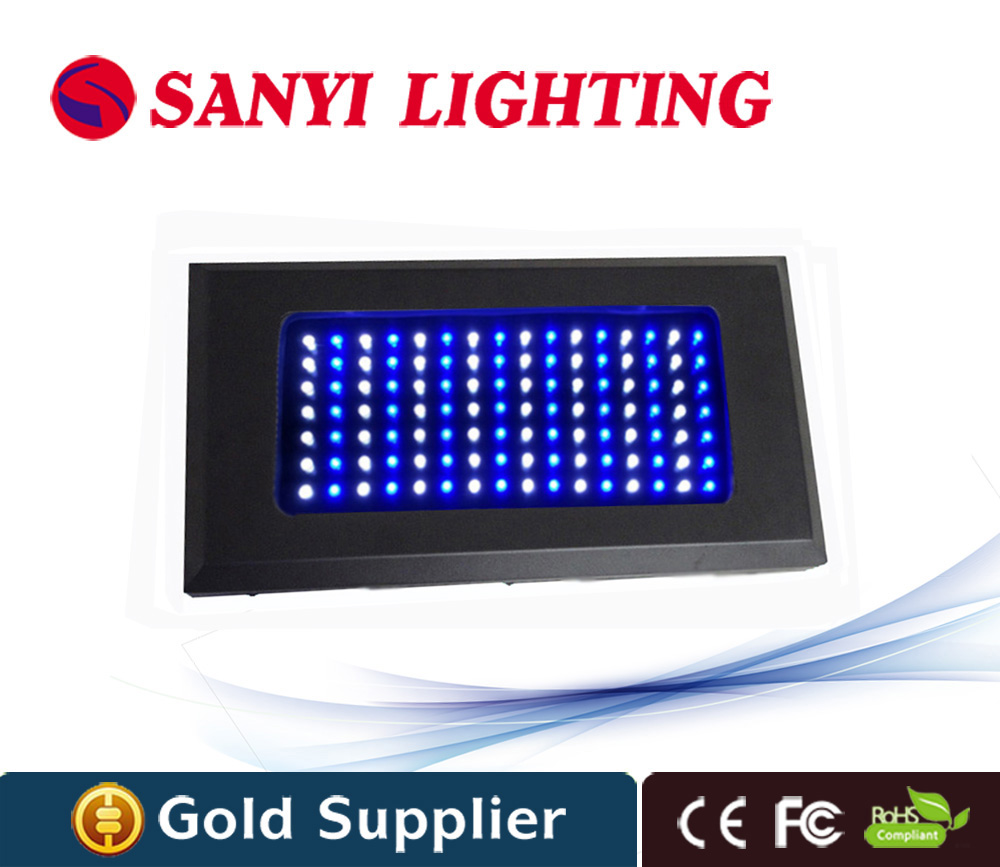 High Quality LED Grow Light 300W indoor plant aquarium led light 3W Chip 112pcs white blue For fish tank AC85-265V