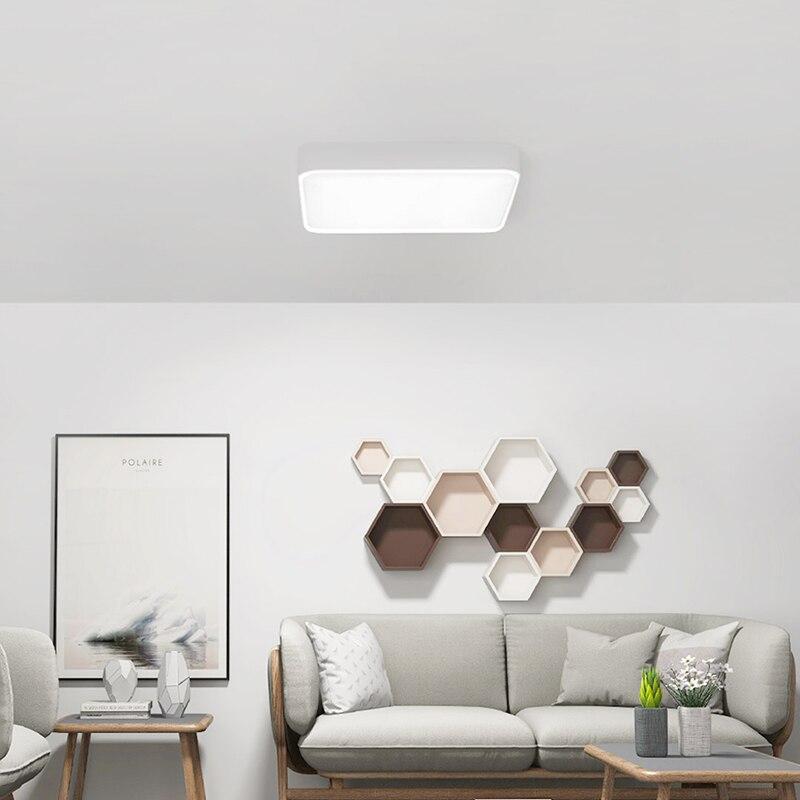 Xiaomi Mijia Yeelight Smart LED Vierkante Plafondlamp APP Afstandsbediening Plafondlamp voor slaapkamer woonkamer - 4