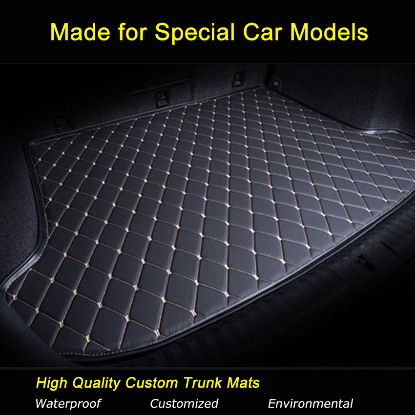 Car Trunk Mats Specially for Citroen C4 C5 C-elysee Grand Picasso c-elysee Trunk Carpets Waterproof Trunk Rugs стоимость