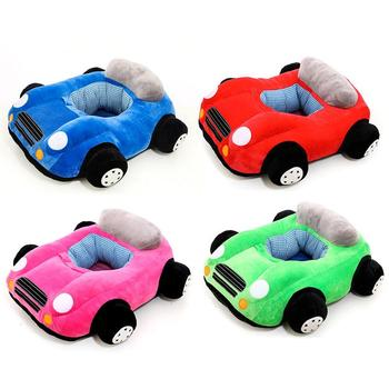 Cute Baby 1-6 Month Cars Model Stuffed Toys Babies Brinquedos For Kids Kawaii Car Shape Learning Seat Kids Gift