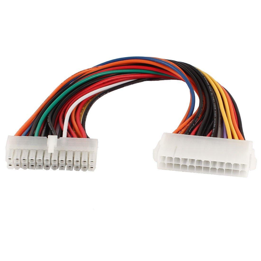все цены на  ATX 24 Pin Male to 24 Pin Female Internal PC PSU Power Extension Cable  онлайн