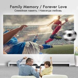 Image 2 - BYINTEK GP70 נייד מיני LED מקרן, קולנוע וידאו דיגיטלי HD קולנוע ביתי מקרן Proyector