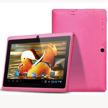 ZDX 7 inch Quad core 1.5GHz android 4.4 tablet pc Q88 allwinner A33 512MB+8GB Capacitive Screen 1024×600 Dual camera WIFI Tablet