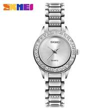 SKMEI Fashion Women Quartz Watch Luxury Casual Ladies Wrist Watches Waterproof Rose Gold Wristwatch Woman Clock Relogio Feminino стоимость