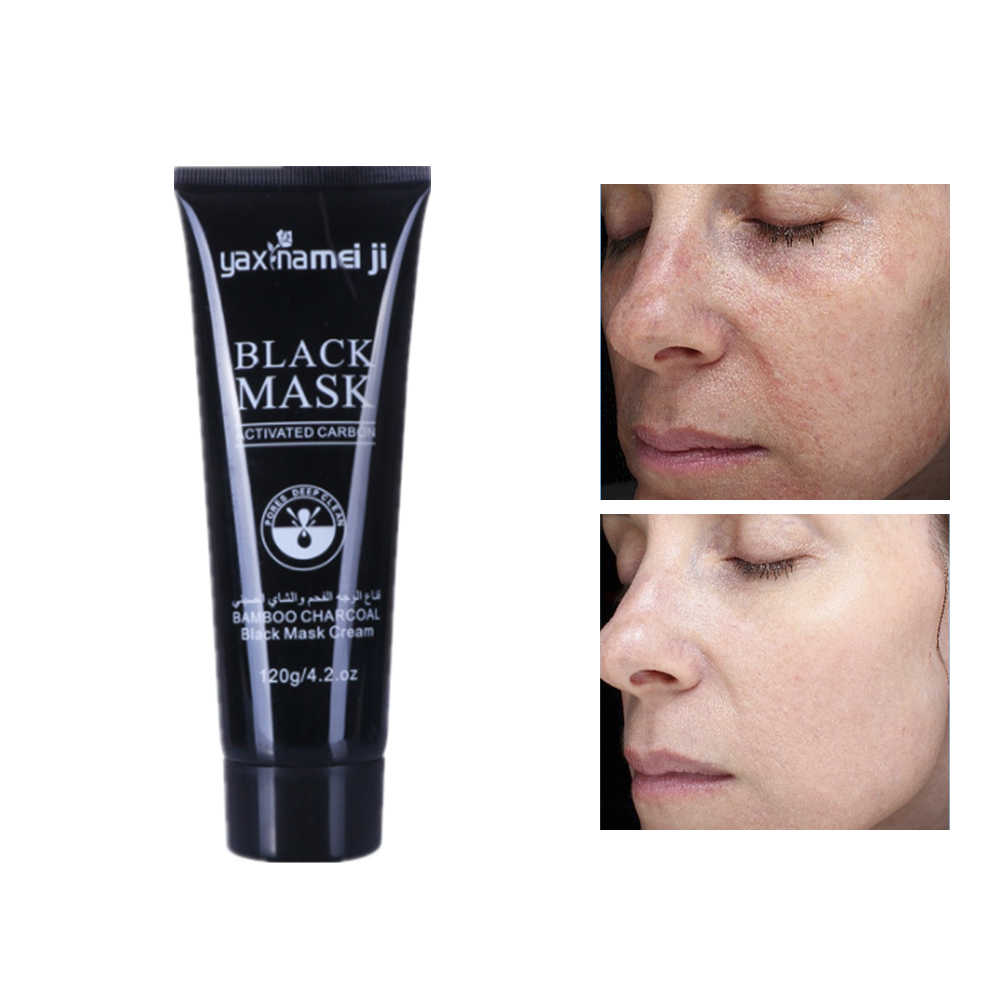 DISAAR masque visage bambou charbon de bois Rose nettoyage en profondeur enlever la graisse rétrécit les Pores nourrissant soins de la peau points noirs feuille de nettoyage