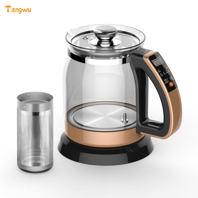 Free shipping Multifunctional health pot kettle with thick glass automatic tea insulation Safety Auto-Off Function free shipping multifunctional health pot kettle with thick glass automatic tea insulation safety auto off function