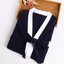Men's Casual Solid 2018 Spring Autumn New Robe Sleepwear  Bathrobe Chinese Kimono Gown Loose Intimate Lingerie Wedding Robes