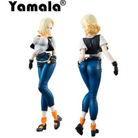 Yamala Dragon Ball Z Android 18 Lazuli Sexy 20 Cm PVC Collectie Anime Action Figure