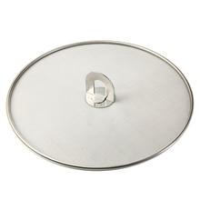 Mayitr 1 шт. 29/33 см Нержавеющая сталь брызги Экран сетка жира крышка масло покрытие для сковороды с ручкой Кухня приспособления для готовки