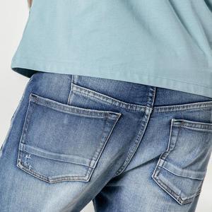Image 4 - SIMWOOD 새로운 2020 청바지 남성 패션 데님 발목 길이 Modis 바지 슬림 플러스 사이즈 바지 브랜드 의류 Streetwear 청바지 190028