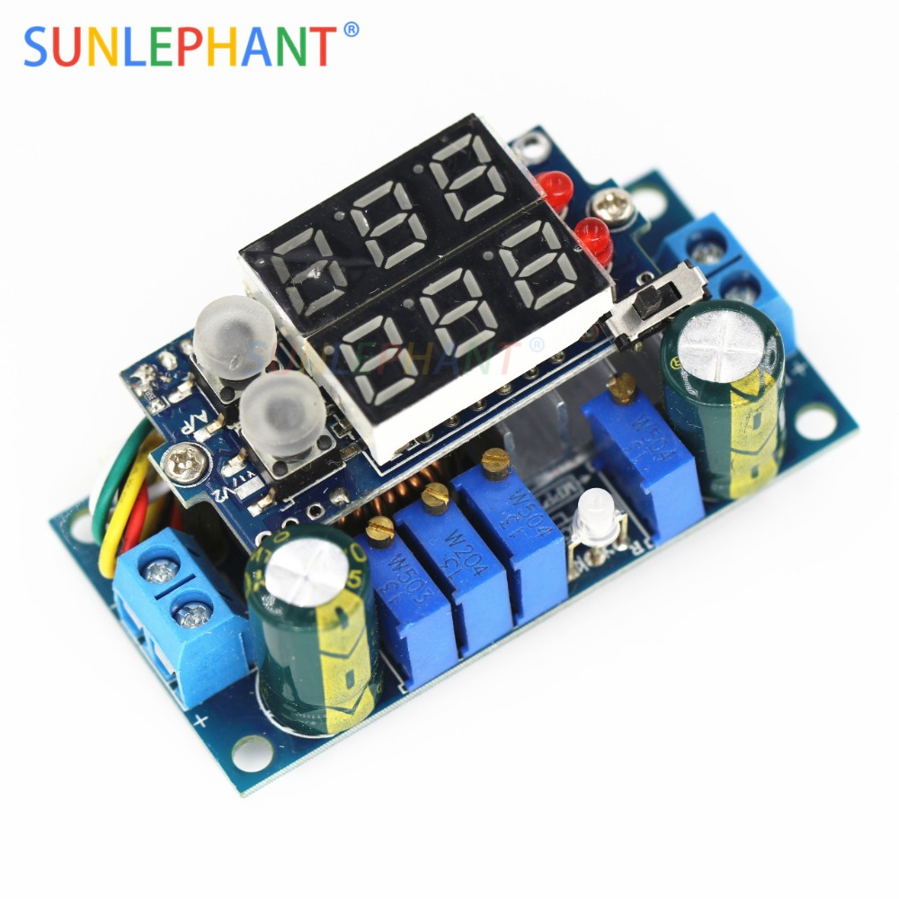5A MPPT Solar Panel Controller DC-DC Step-down CC/CV Charging Module Display LED Regulator Controllers5A MPPT Solar Panel Controller DC-DC Step-down CC/CV Charging Module Display LED Regulator Controllers