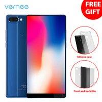 18:9 Vernee Mix 2 4G LTE Telefon komórkowy Android 7.0 Helio P25 Octa Rdzeń 4 + 64 Smartphone 6 Cal 2160*1080 Linii Papilarnych 2 Powrót kamera