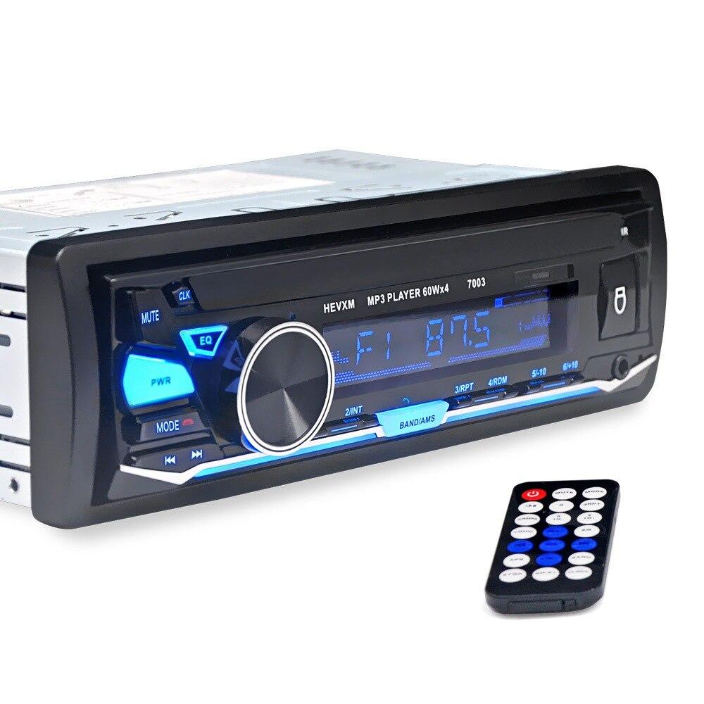 Lecteur MP3 multifonction Bluetooth voiture universel 12 V Auto Support stéréo intégré Microphone Bluetooth voiture Audio