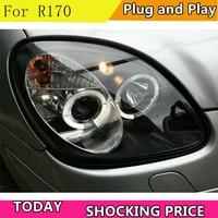 Factory For Car Headlamp For R170 Headlight 1996 2004 SLK200 SLK230 SLK320 LED Head Light Xenon Len With DRL Plug And Play