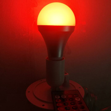 120mm direct Lighting led light source RGB 16 color changing with E27 Bulb for led bar furniture for Christmas Decor 10pcs/lot
