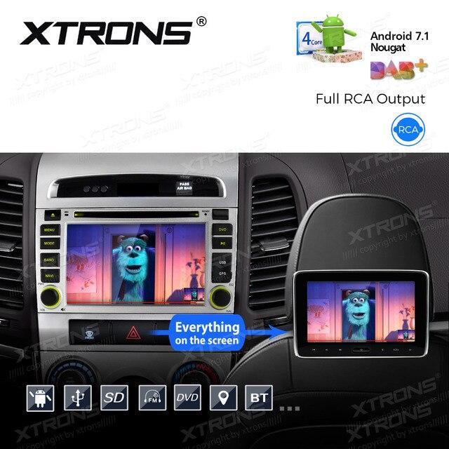 Us 248 82 22 Off Aliexpress Com Buy Xtrons 6 2 Android 7 1 Car Dvd Player Gps Radio For Hyundai Santa Fe Second Generation Cm 2006 2007 2008 2009