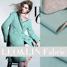 2016 cloth fabric elegant blue green gray  double cashmere 1.5 meters width patchwork (1 meter)