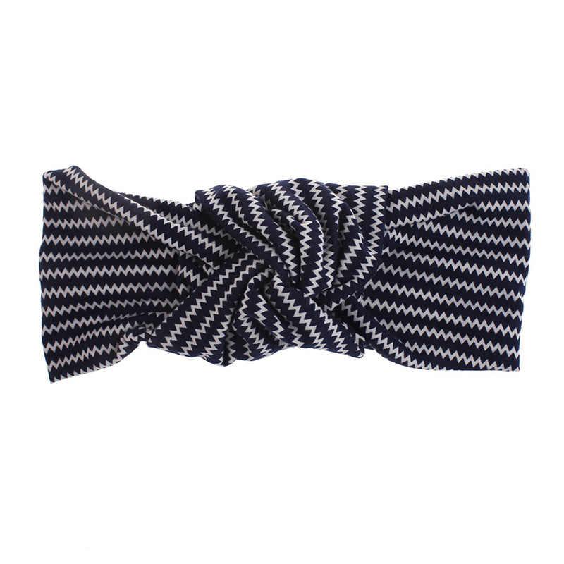 Тюрбан для волос, завязанный узел, модная женская повязка на голову, обруч, новая голова