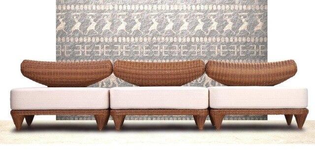 2017 Newest High Quality Waterproof Italian Cebu Used Resin Wicker Patio  Furniture For Sale