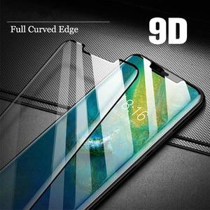 Image 3 - 9D verre trempé pour ASUS Zenfone MaxPro M2 ZB631KL protecteur décran sur Zenfone Max M1 ZB601KL verre ZC554KL ZB555KL couverture complète