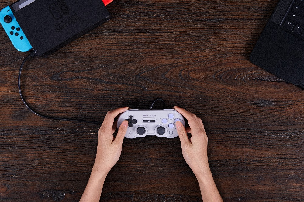 Official 8BitDo Wired SN30 Pro USB Gamepad for Nintendo Switch Windows Raspberry Pi SN Edition 10