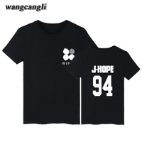Korean Bangtan Woman Tshirt Top Short Sleeve Cotton Popular BTS Kpop Tee Shirts Women 2017 Summer