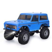 RGT RC Гусеничный 1:10 4wd гусеничный внедорожных Rock крейсер RC-4 136100V2 4x4 Водонепроницаемый хобби RC автомобиль игрушка для детей