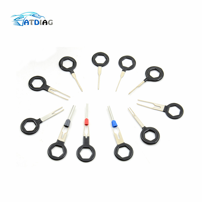 auto car remove tool set 3  8  11pcs plug circuit board wire harness terminal extraction pick