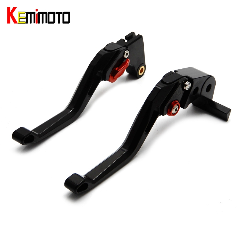 KEMiMOTO CNC 5D Short Adjuster Motorcycle Brake Clutch Fully 6 positions Lever for Yamaha YZF R1 R3 R6 R25 MT07 MT09 FZ09 Black 6 colors cnc adjustable motorcycle brake clutch levers for yamaha yzf r6 yzfr6 1999 2004 2005 2016 2017 logo yzf r6 lever
